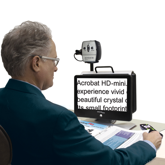 Acrobat HD mini ultra electronic magnifier