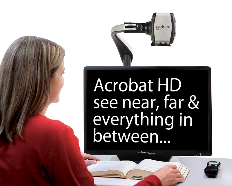 Acrobat HD-ultra electronic magnifier