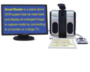Smart Reader Electronic Magnifier
