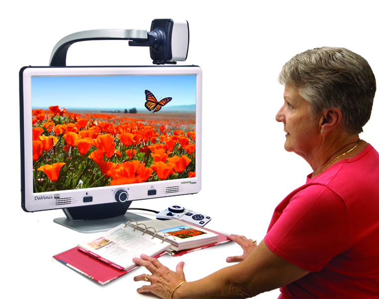 Davinci Hd All In One Desktop Magnifier With Ocr
