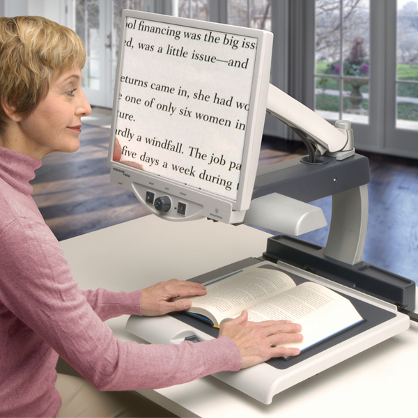 Learn About The Merlin Electronic Magnifier For Low Vision