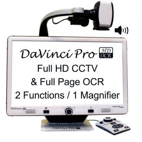 Low Vision Solutions | DaVinci Pro HD/OCR - Full Page Text-to-Speech