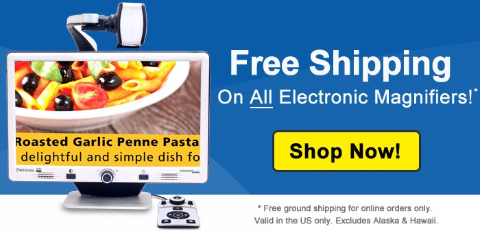 Free Shipping On Electronic Magnifiers