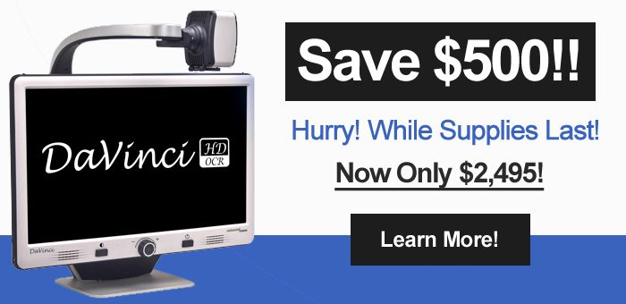 Special Savings of $500 on DaVinci