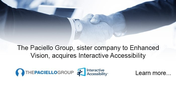 The Paciello Group acquisition of Interactive Accessibility